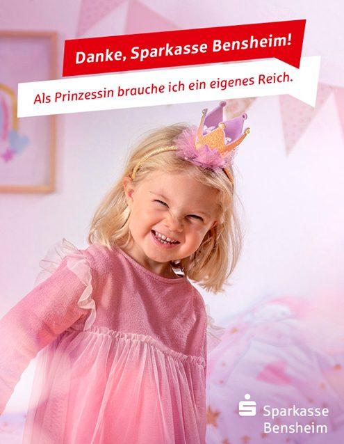 Image-Kampagne für die Sparkasse Bensheim